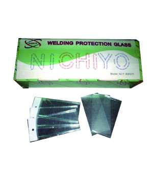 """NICHIYO"" WELDING PROTECTION GLASS-BLACK"