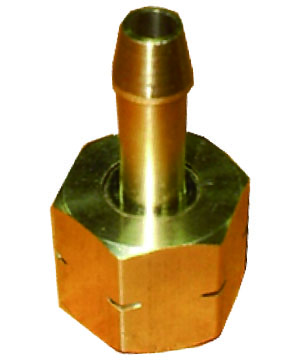 Brass Coupling LH for cutting torch