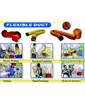 Flexible Duct Hose for Ventilator