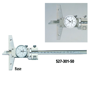 Dial Depth Gage Series 527--with Fine Adjustment
