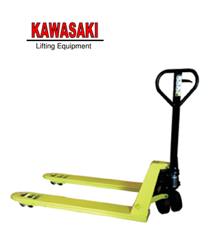 WDF PALLET TRUCK GREEN COLOR