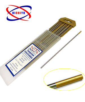 """NICHIYO"" Tungsten Rod WL15 Gold Head"