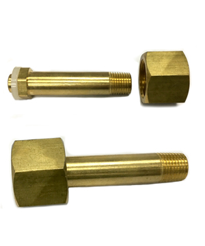 SPARE PART FOR CO2 REGULATOR SOLID BRASS TYPE