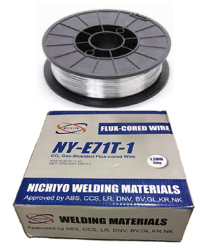 """NICHIYO""WELDING FLUX CORE WIRE"
