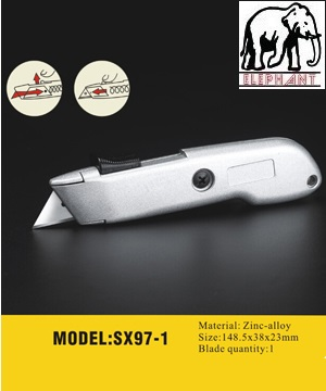 ELEPHANT Auto Retractable Utility Knife