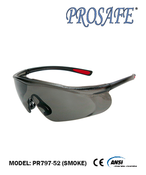 91797 Anti-Scratch Safety Eyewear (smoke lens)