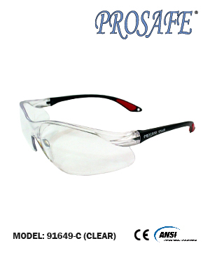 91649 Basic Safety Eyewear (Clear Lens)