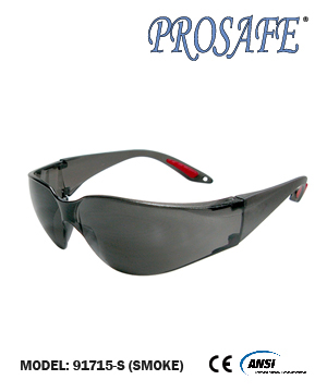 91715 Full Eye Protection Eyewear (smoke lens)