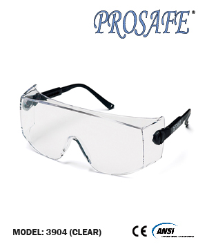3904 Over Spectacle Safety Eyewear