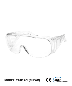 Over Spectacle Working Goggles (clear lens)