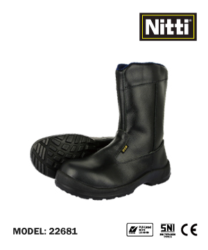"""NITTI"" 22681 Mid Cut Safety Shoe"