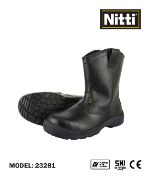 """NITTI"" 23281 High Cut Safety Shoe"