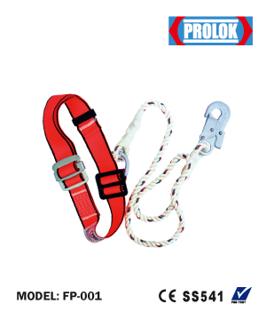 """PROLOK"" Industrial Safety Belt Small Hook"