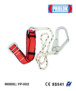 """PROLOK"" Industrial Safety Belt Big Hook"