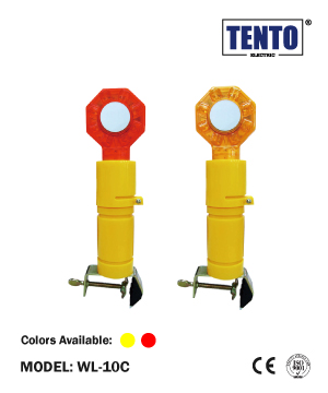 """TENTO"" Barricade Flashing Light"