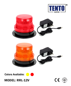 """TENTO"" LED Rechargeable Revolving Light-Magnetic Type"