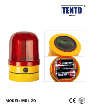 """TENTO"" LED Revolving Light Magnetic Type"