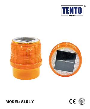 """TENTO"" Solar LED Revolving Light"