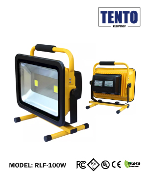 LED Rechargeable Flood Light 100W