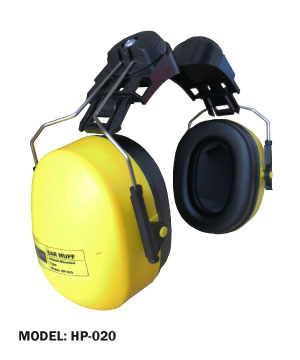 Helmet-Mounted Ear Muff